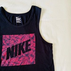 Nike Athletic Workout Muscle Tank Top Retro Vibes